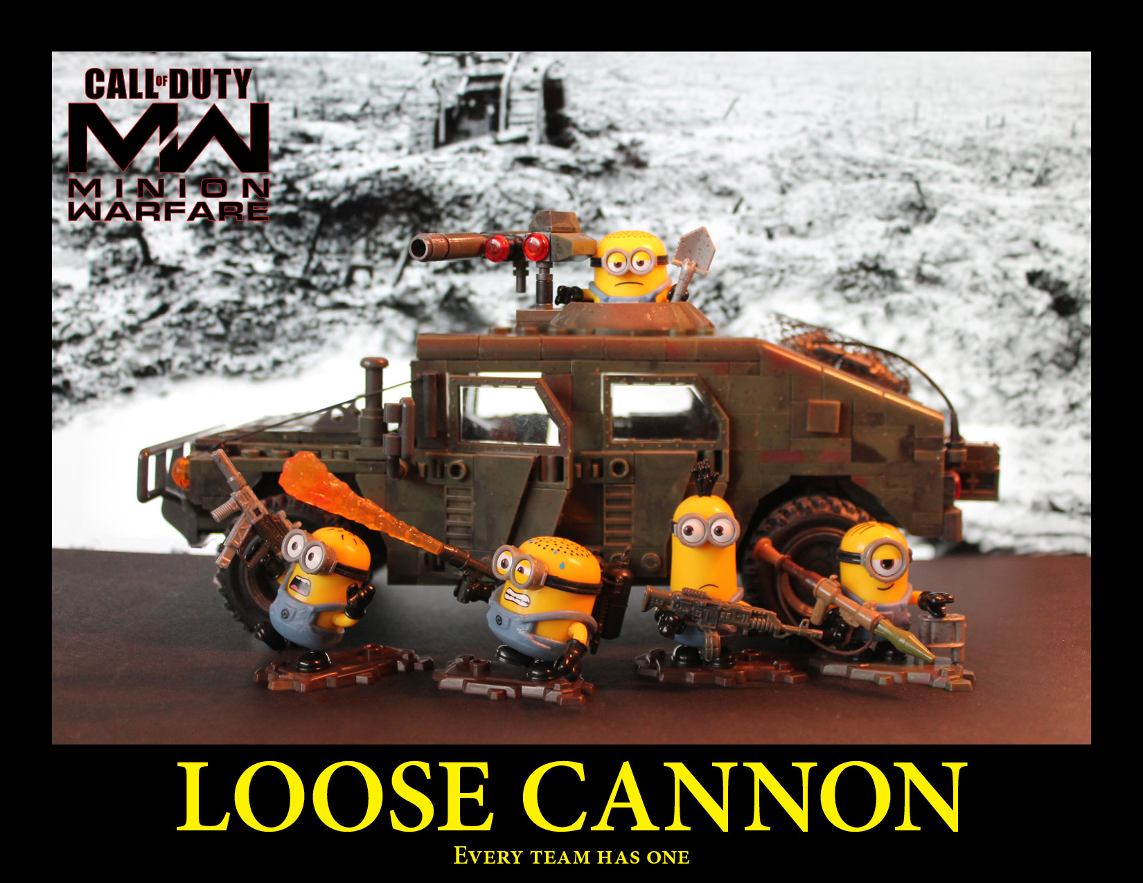 Modern Warfare with Minions