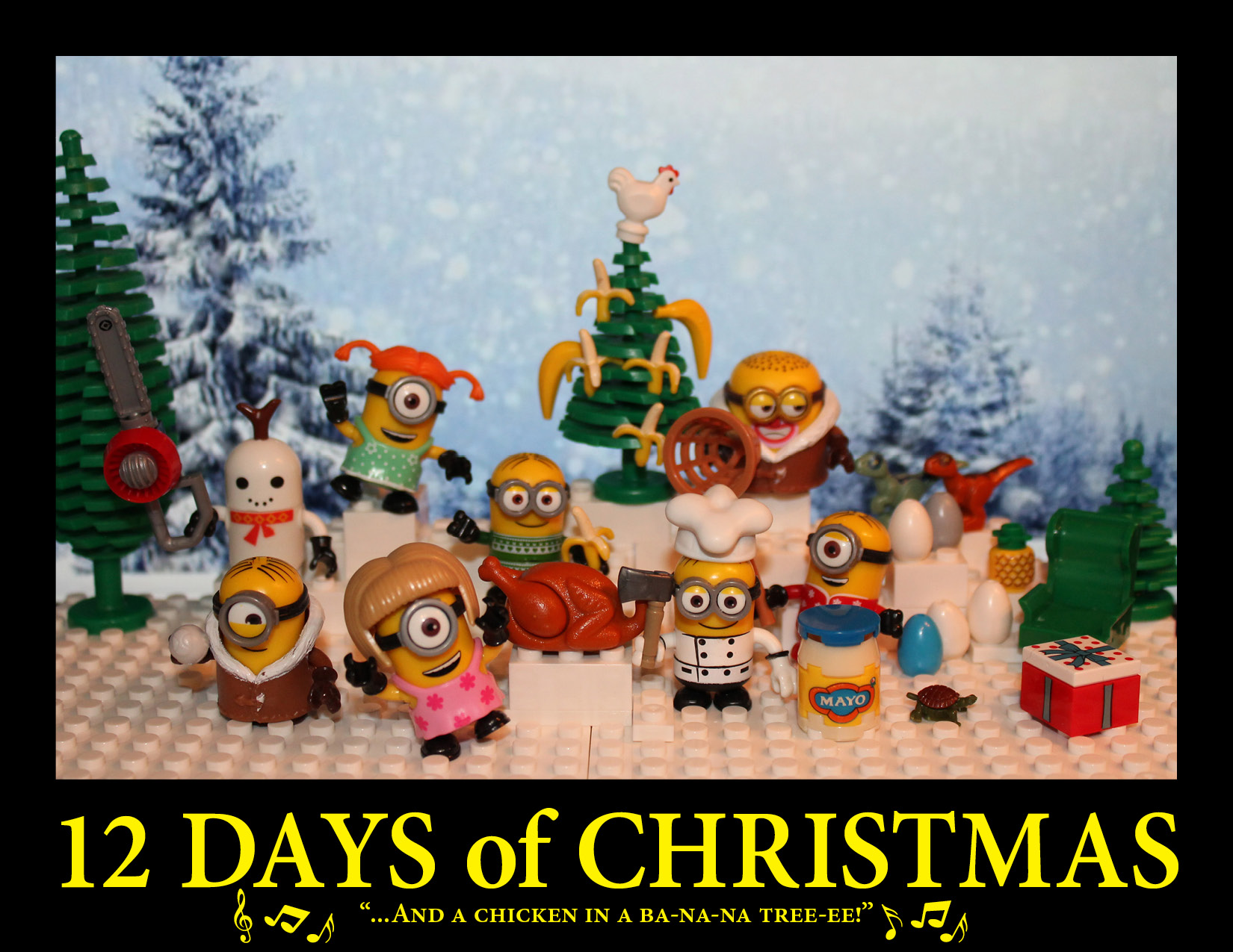 12 Days of Minions