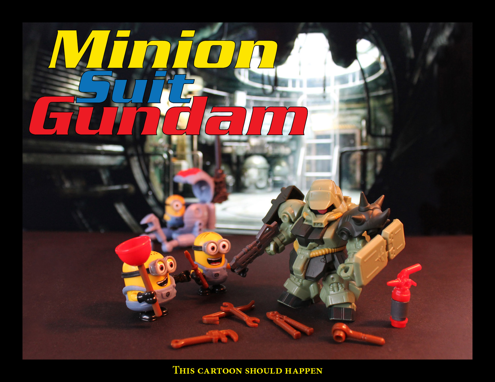 Mobile Suit Gundam and Minions