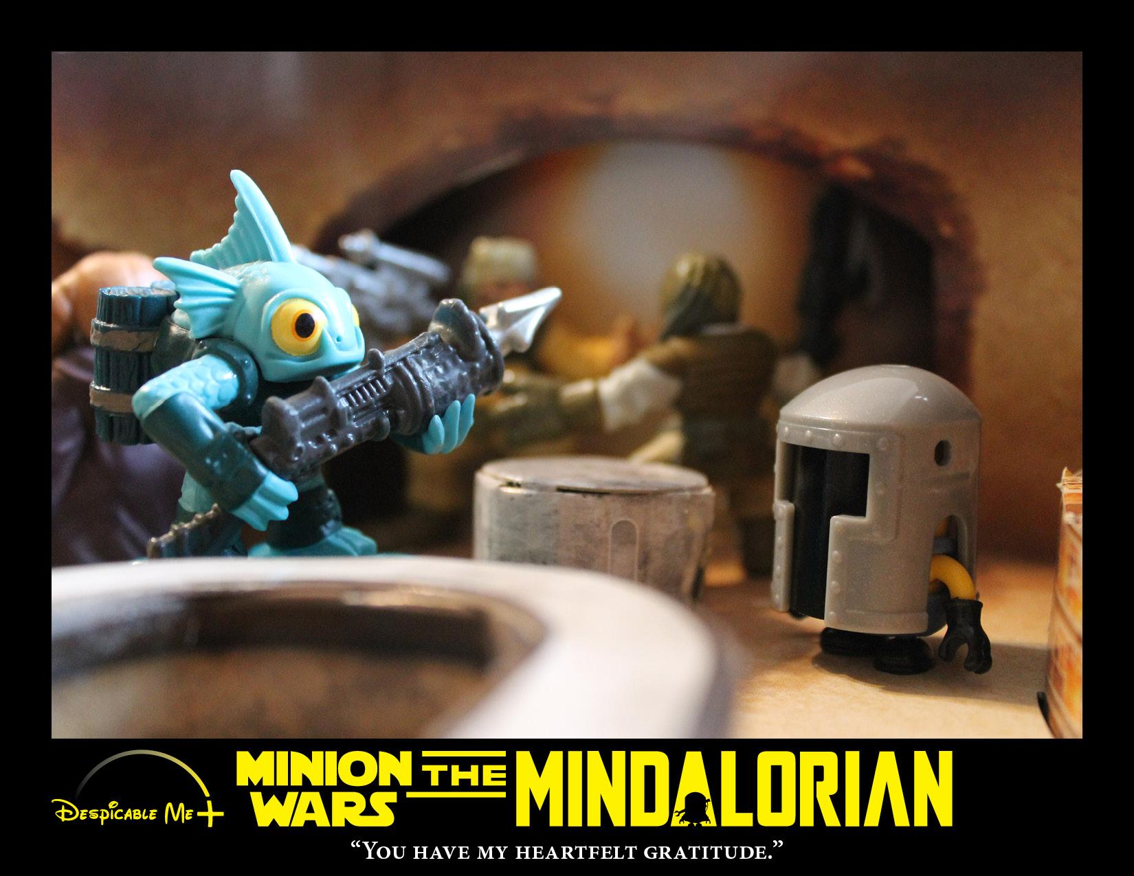 The Mindalorian encounters his bounty.