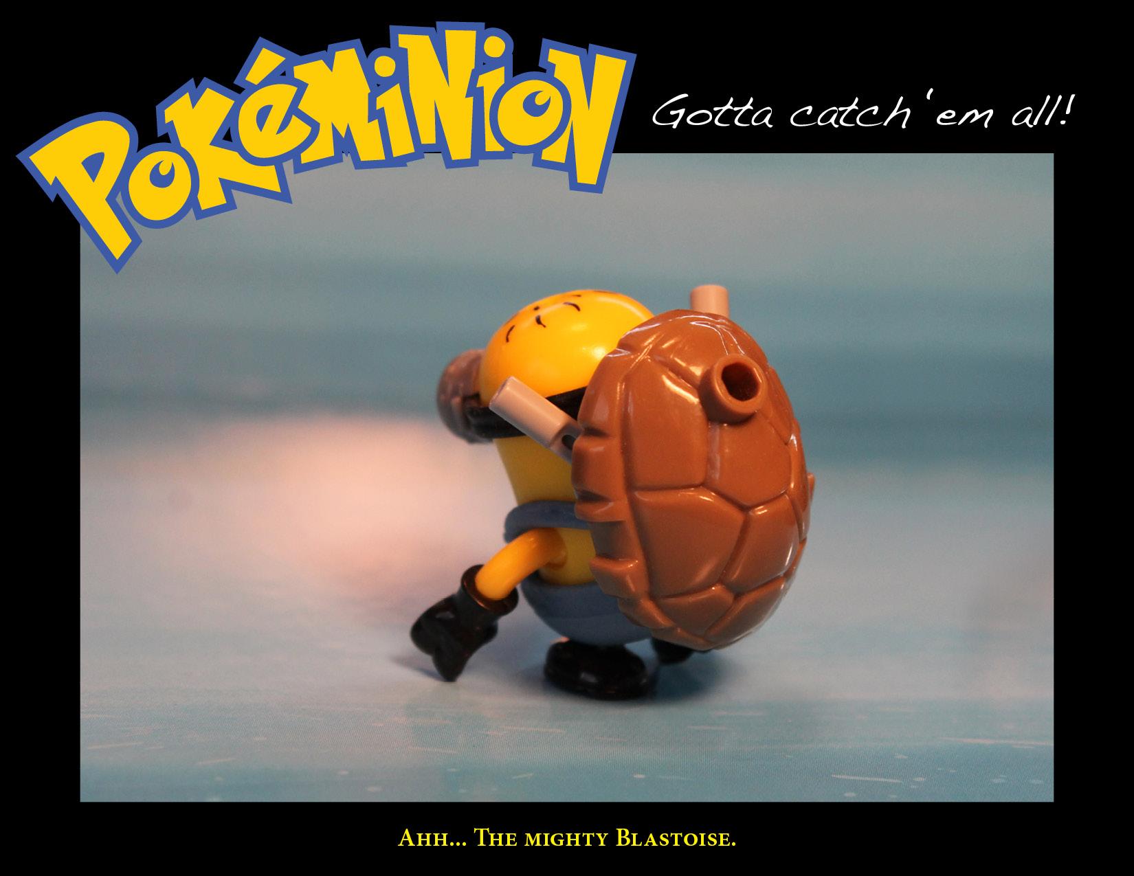 Blastoise minion.