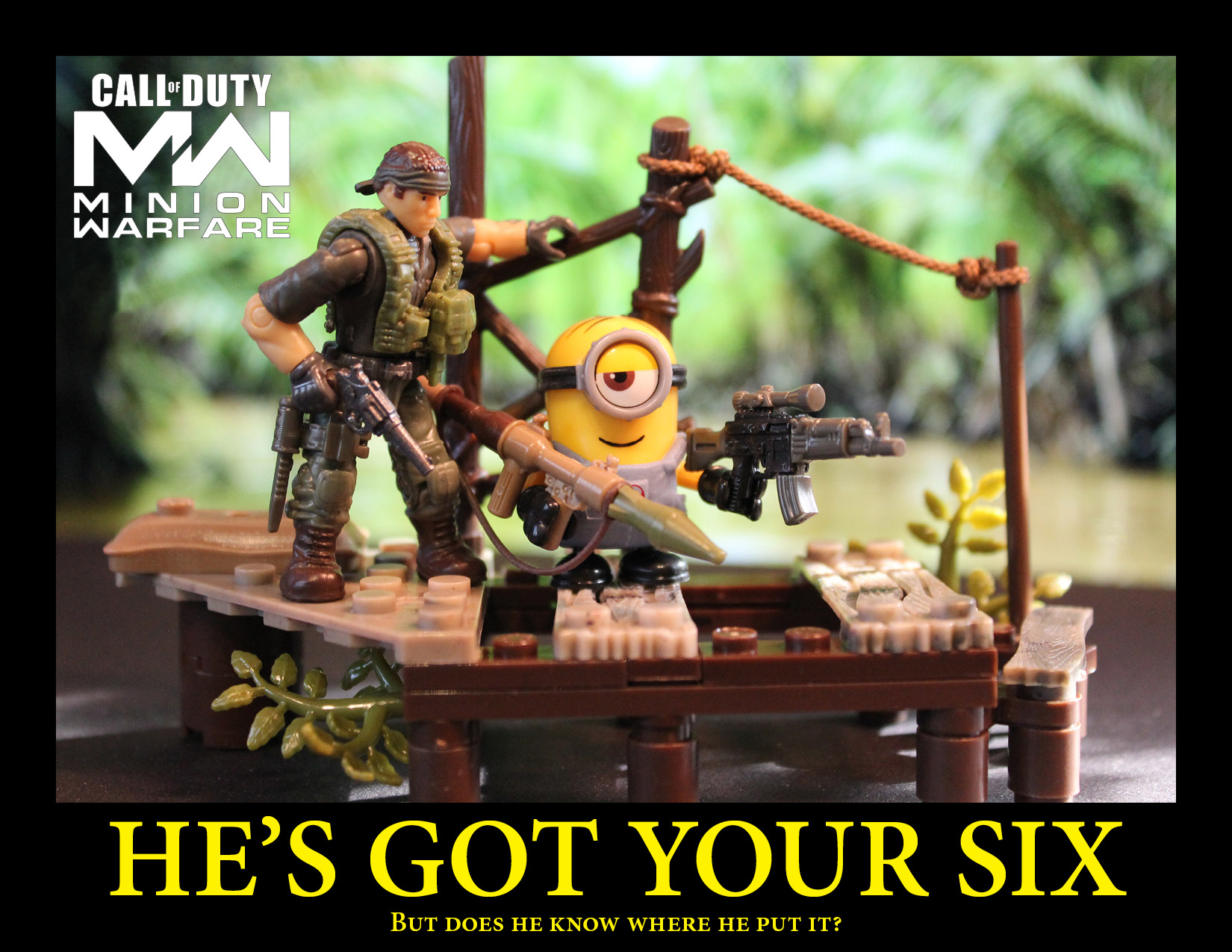Call of Duty meets the Minions