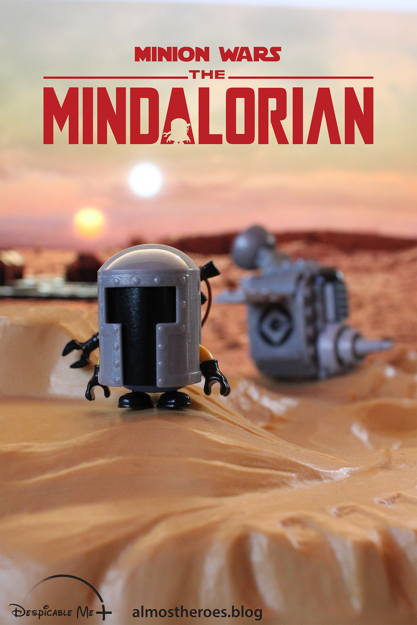 The Mindalorian poster.