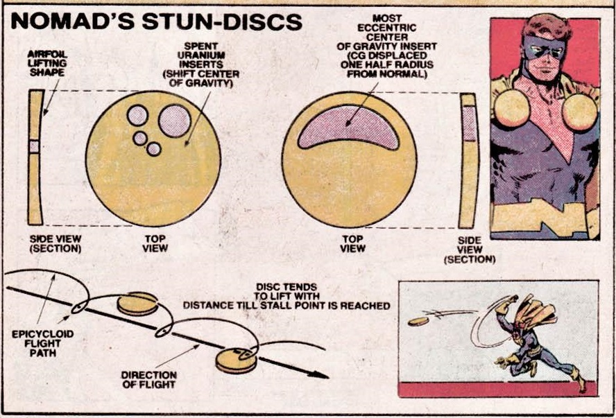 Diagram of Nomad's Stun Disk design.
