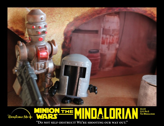 The Mindalorian and IG-11.