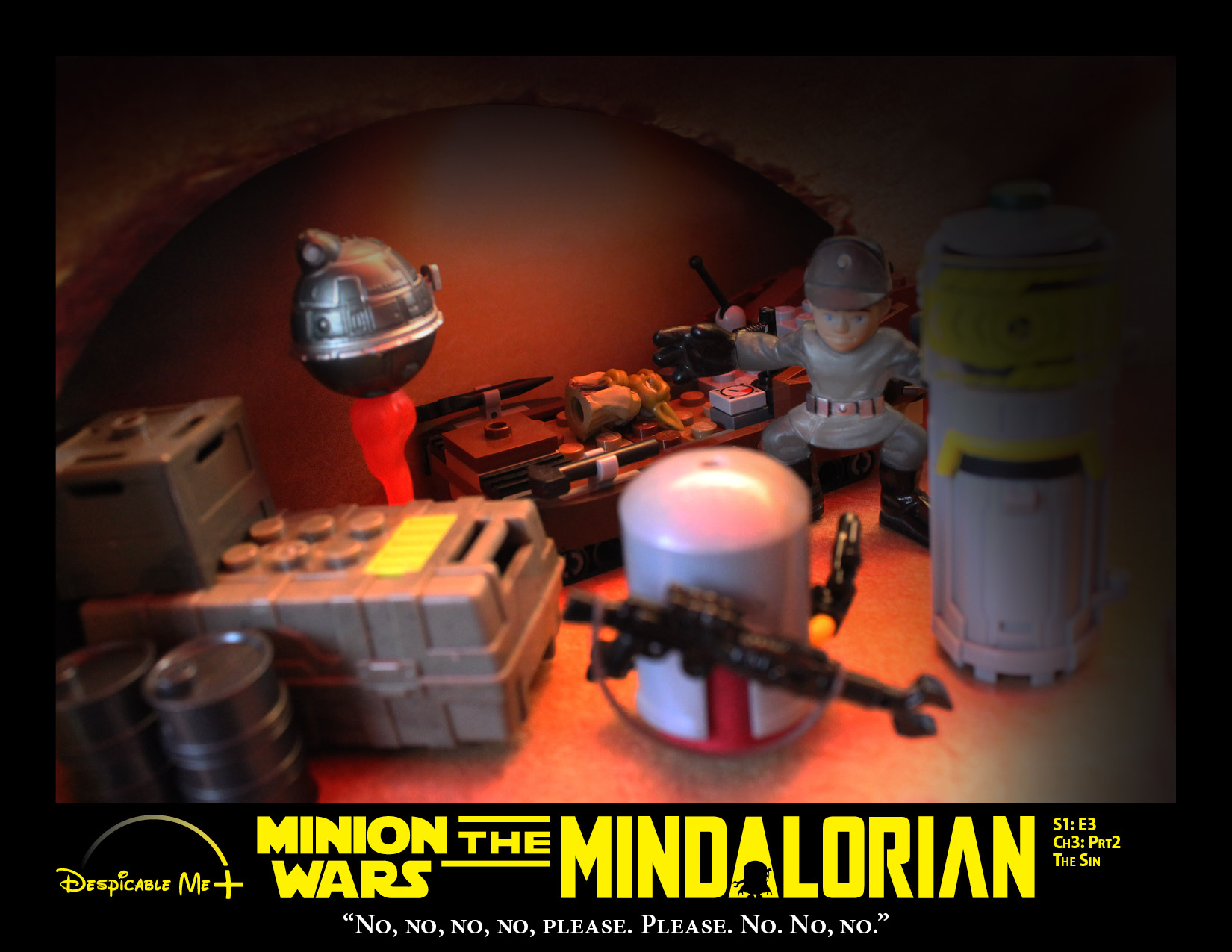 The Mindalorian moves in to reclaim the foundling.