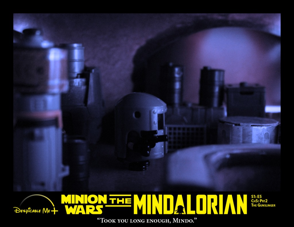 The Mindalorian heads back to the hanger to check on baby Yoda.