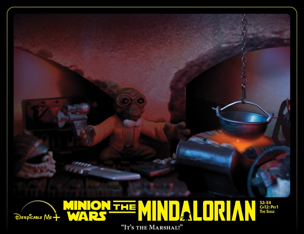 The Mindalorian: Episode 4: The Siege, part 1. Knock, knock. Who's there?
